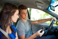 Teen distracted driving and auto crashes worse than expected
